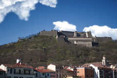 The military fortress of Gavi Ligure Royalty Free Stock Images