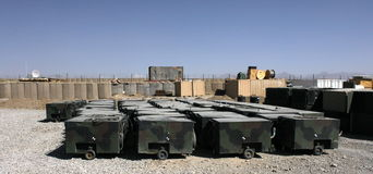 Military generators II Stock Image
