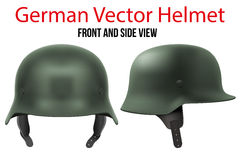 Military German helmet of WW2 Stock Image