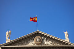 Military Government - Barcelona Spain Royalty Free Stock Photo