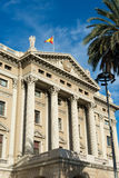 Military government building barcelona Stock Photography
