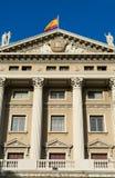 Military government building barcelona Stock Photos