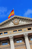 Military Government Building, Barcelona, Spain Stock Photo
