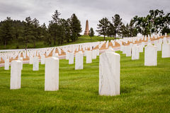 Military graveyard Stock Image