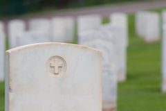 Military graveyard Royalty Free Stock Images