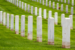 Military graveyard Stock Photos