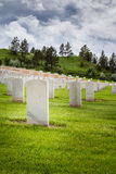 Military graveyard Stock Photography