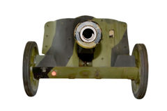 Military green cannon Royalty Free Stock Image