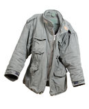 Military green jacket Stock Images