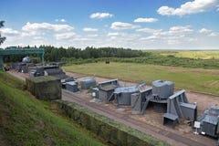 Military ground Stock Photo