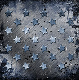 Military Grunge With Stars Stock Image