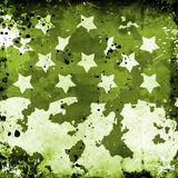 Military Grunge With Stars Stock Photography