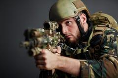 Military guard Royalty Free Stock Photos