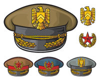 Military hats Stock Photography