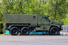 Military havy vehicle Stock Image