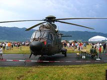 Military helicopter Royalty Free Stock Photos