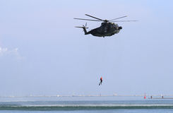 Military Helicopter Stock Photography