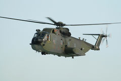 Military helicopter Stock Image