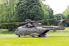 Military helicopter. Royalty Free Stock Images