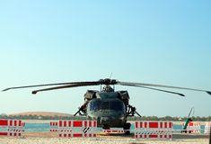 Military Helicopter Emergency Landing Stock Photos