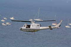 Military helicopter. Stock Image