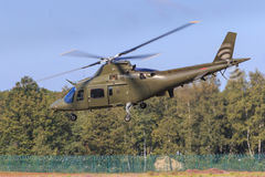 Military helicopter Royalty Free Stock Image