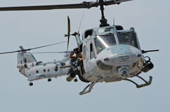 Marines Helicopter USA  Royalty Free Stock Images