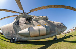 Military helicopter Mi-26 Royalty Free Stock Images