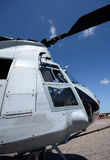 Military helicopter nose royalty free stock photos