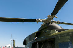 Military helicopter propeller Stock Photos