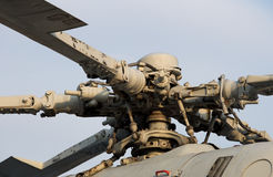 Military helicopter rotor Stock Images