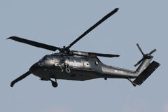 Military helicopter Sikorsky Blackhawk S-70i Stock Photography