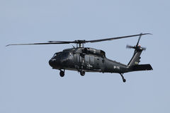 Military helicopter Sikorsky Blackhawk S-70i Royalty Free Stock Photo