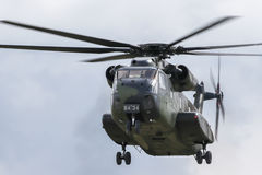 Military helicopter Sikorsky CH-53 GA Stock Photos