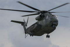 Military helicopter Sikorsky CH-53 GA Royalty Free Stock Photography