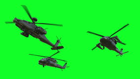 Military Helicopter UH-60 Black Hawk Realistic 3d Animation