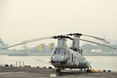 Military helicopters Stock Photography