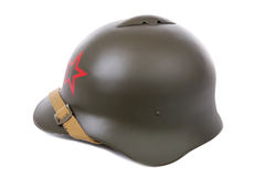 Military helmet of the Soviet Army Stock Photography