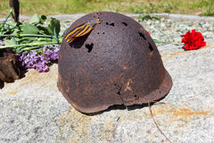 Military helmet Royalty Free Stock Photos