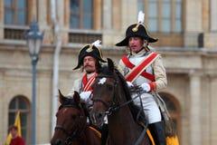 Military historical festival Gatchinskaya Byl Stock Photography