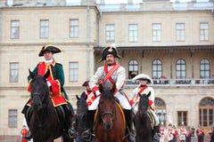 Military historical festival Gatchinskaya Byl Royalty Free Stock Image