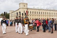 Military historical festival Gatchinskaya Byl Royalty Free Stock Photo