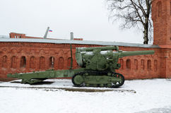 Military-historical Museum of artillery. Stock Images