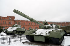 Military-historical Museum of artillery. Stock Photos