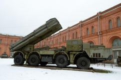 Military-historical Museum of artillery. Stock Image