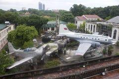 Military History museum in Hanoi Stock Image