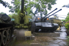 Military History museum in Hanoi Royalty Free Stock Photo