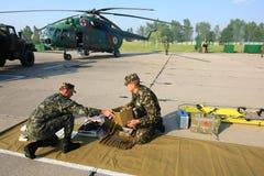 Military hospital Stock Photo