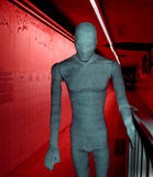 Military hospital museum. Mannequin covered in bandages inside military hospital museum, Vukovar, Croatia Stock Photo