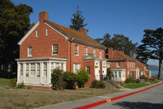 Military housing. Presidio, San Francisco, California Stock Images
